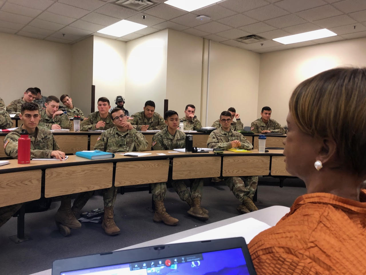 Bina48 lectures at West Point Military Academy